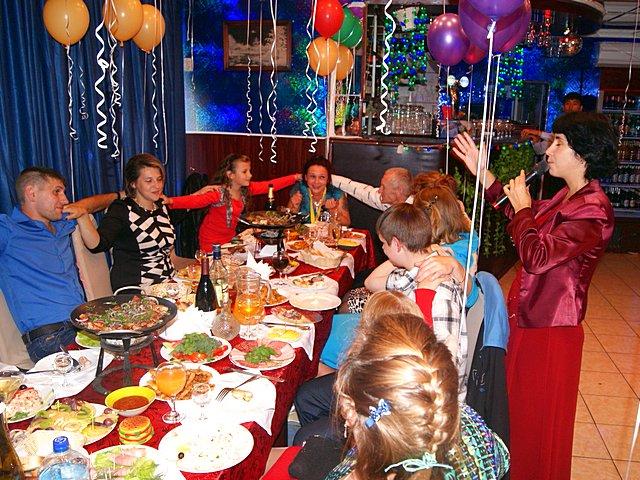 Конкурсы на день рожденья дома за столом